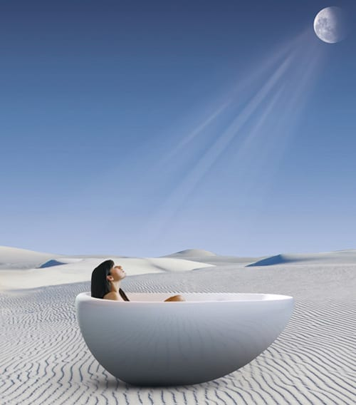 bainultra bathtub essencia 1 Oval Freestanding Bathtub by Bainultra   new Essencia