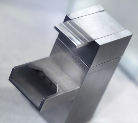 balance faucet square Contemporary Faucets from Balance   Square, Round and El Touch faucet