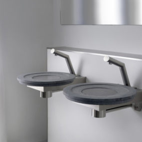 Urban style sink from Balance – Code X Blue Line and Code X Crystalplant sinks