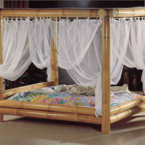 Bamboo bed from High Touch