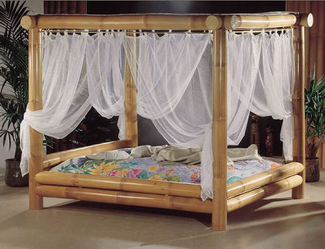 Bamboo bed from high touch - Camas de exterior ...