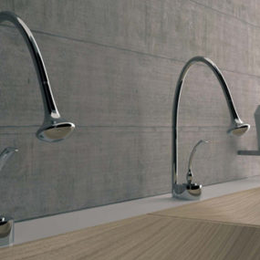 Futuristic Bathroom Fixtures by Bandini – Eden