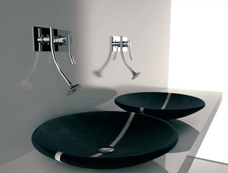 bandini faucet eden 2 Futuristic Bathroom Fixtures by Bandini   Eden