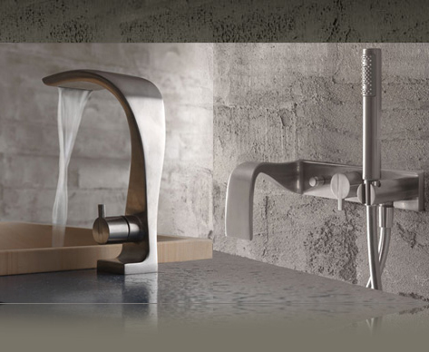 bandini idra faucet Design Faucets   new bathroom faucets from Bandini will make you want them!