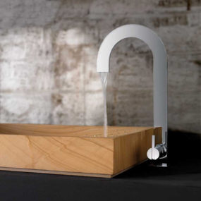 Bandini bathroom faucet collection – new Naos two-dimensional faucets