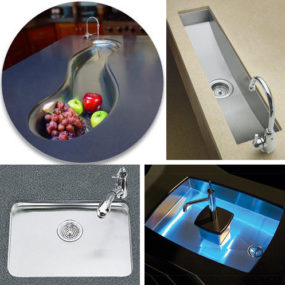 Bar Sinks and Prep Sinks – Kitchen Entertainment Trend