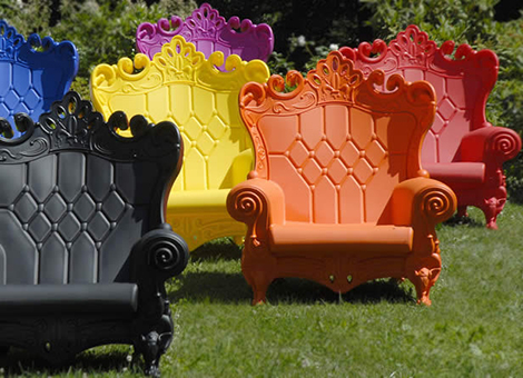 baroque outdoor chair saw italy queen of love 2