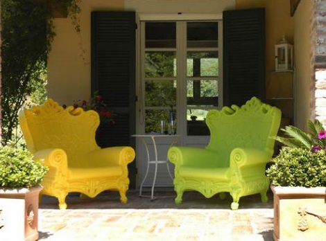 baroque outdoor chair saw italy queen of love 5