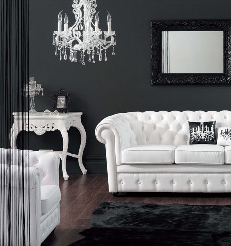 Baroque style furniture with modern twist at modani for Modern chic furniture