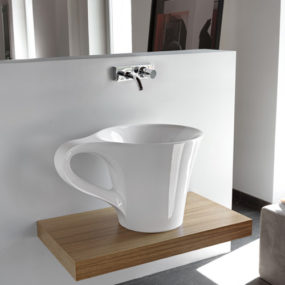 Bathroom Basin Cup by Artceram
