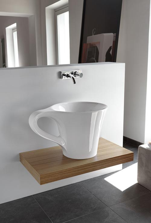 basin cup artceram 1 Bathroom Basin Cup by Artceram