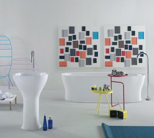 Stylish Bathroom By Ceramica Globo