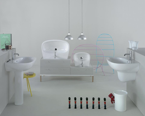 bathroom affetto ceramica globo 2 Stylish Bathroomby Ceramica Globo