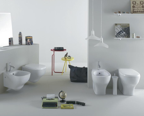 Ceramica Globo Space Stone.Stylish Bathroom By Ceramica Globo