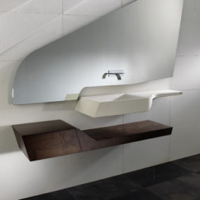 Minimalist Bathroom Suite by A-Cero – Spirit
