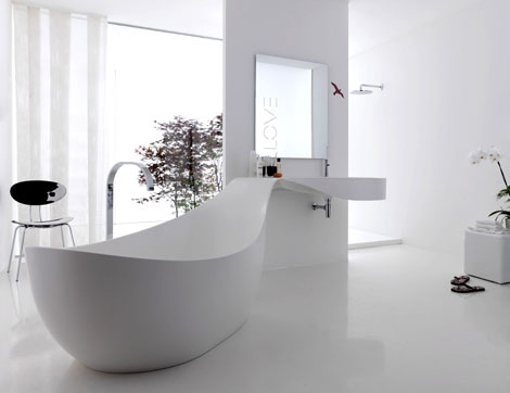 Bathroom design ideas pictures from novello love for Z gallerie bathroom decor
