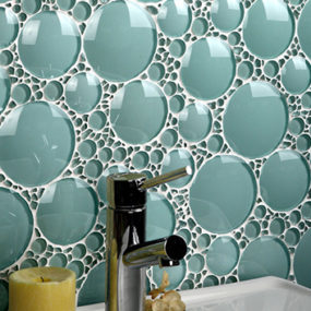 Bathroom Glass Tile Ideas – glass tile backsplash by Evit