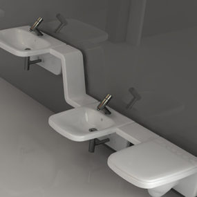 Bathroom Idea from Axa – Moss ceramics
