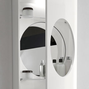 Bathroom Illuminated Mirror Cabinet – new Marathi mirror cabinet by Hastings