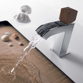 Bathroom Mixer Tap With Open Cascade Spout by Tres – Cuadro