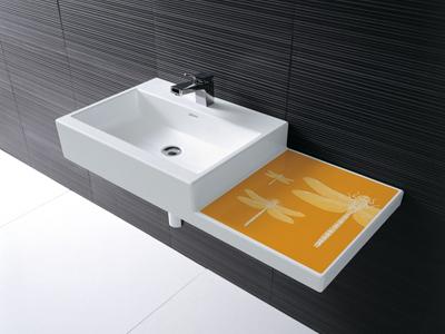 bathroom sink 1 laufen living city sinks New bathroom sink from Laufen   Living City sinks