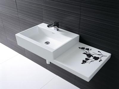 bathroom sink 2 laufen living city sinks New bathroom sink from Laufen   Living City sinks