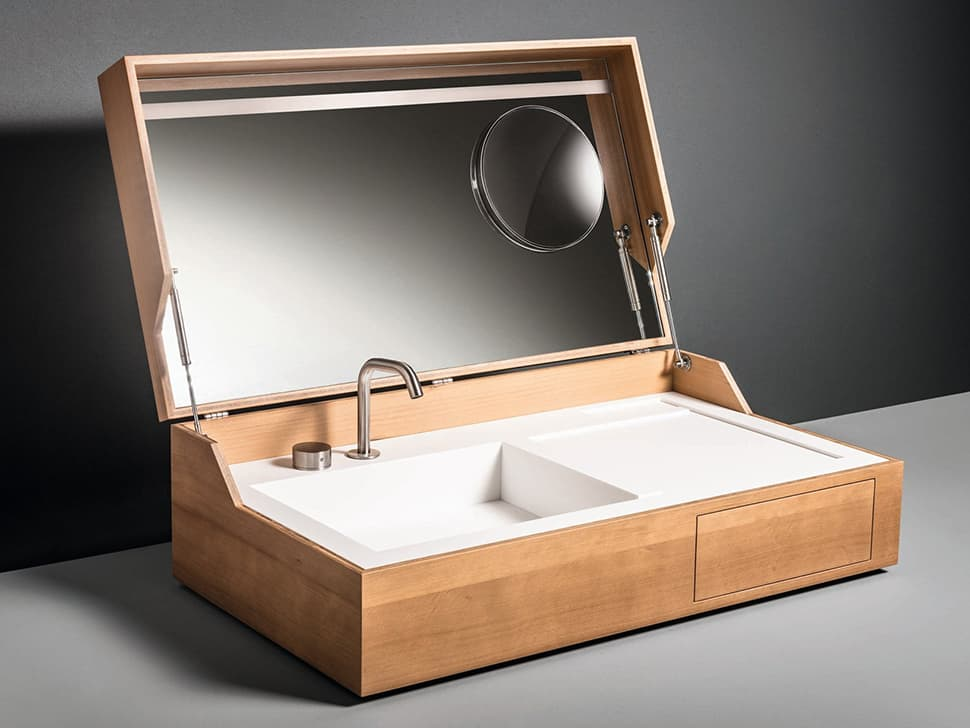Bathroom Sink In A Box Hidden By Makro
