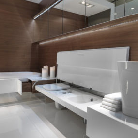 Bathroom with Seating by Falper – new Level 45