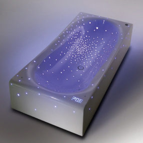 "Futuristic LED Bathtub Nirvana ""feels like drifting through the galaxy"""