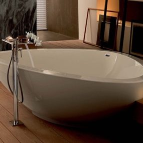 Triangular Bathtubs – Axor Massaud bathtub 2009 from Hansgrohe
