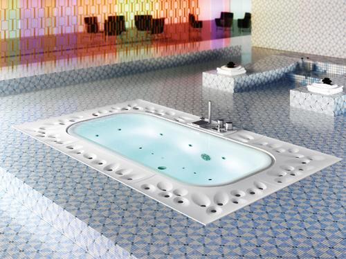 bathtub arima glass 1 Overflow Bathtub Arima by Glass
