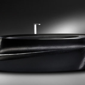 Carbon Fiber Bathtub by Corcel