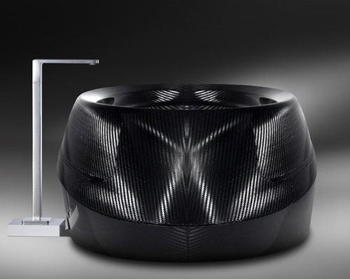 bathtub corcel no1 2 Carbon Fiber Bathtub by Corcel