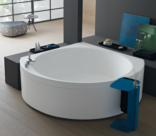 bathtub suri albatros 3 Cool Corner Bathtub by Albatros