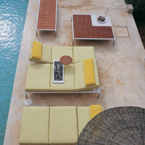 Patio Furniture from B&B Italia – new modern Springtime patio collection