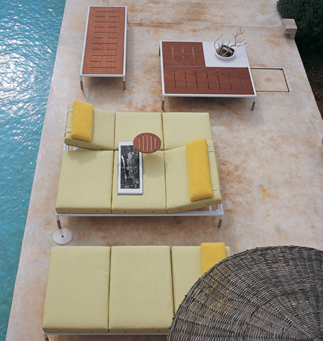 bb italia outdoor furniture springtime 1 Patio Furniture from B&B Italia   new modern Springtime patio collection