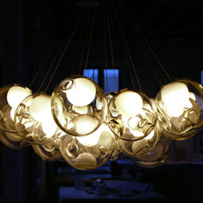 Beautiful Glass Pendants by Bocci – Pendant Chandeliers