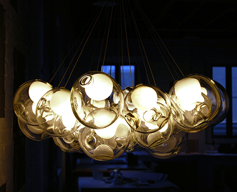 beautiful glass pendant chandeliers bocci 1