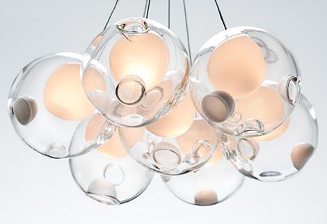 beautiful glass pendant chandeliers bocci 2