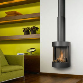 Gas Fireplace from Bellfires – Free Bell wall fireplace