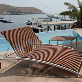 Modern Outdoor Furniture from Beltempo – wood and metal contemporary design