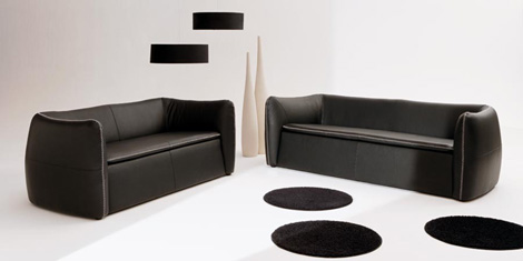 Bergmann Bruno Banani sofas in leather