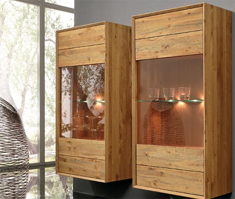bergmann wall units Sensational Solid Wood Furniture by Bergmann   modern furniture with a rustic touch