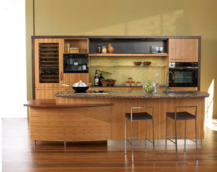 Japanese Kitchen Design By Berkeley Mills The Sereno Bamboo Kitchen