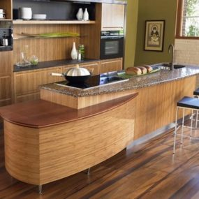 Japanese kitchen design by Berkeley Mills – the Sereno bamboo kitchen