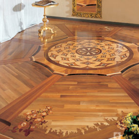 Decorative Wood Inlays from Legno Veneto – the Kremlin floors by Berti
