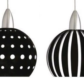 Mini Pendants from Besa Lighting – The Palla Mini Pendant Stripes and Dots