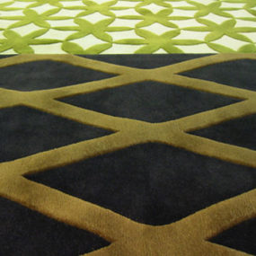 Designer wool Rugs from Bev Hisey