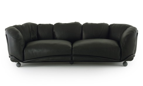 Big fluffy sofas corbeille sofa by edra for Divano morbido