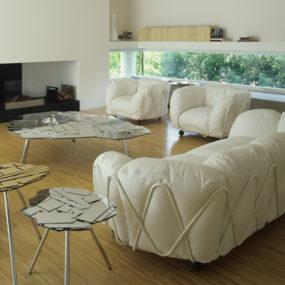 Big Fluffy Sofas – Corbeille Sofa by Edra